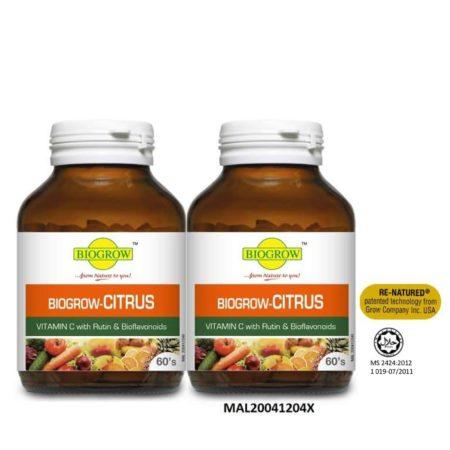 Biogrow Citrus 2x60s