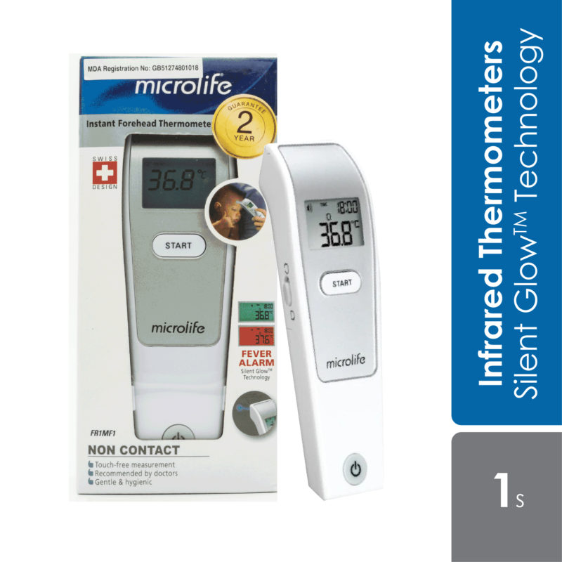 Microlife Non Contact Forehead Thermometer (fr1mf1) 2 Year Warranty
