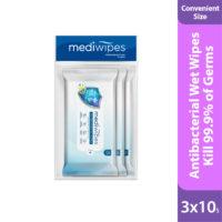Mediwipes Antibacterial Wipes is soft, gentle & comfortable wet wipes.