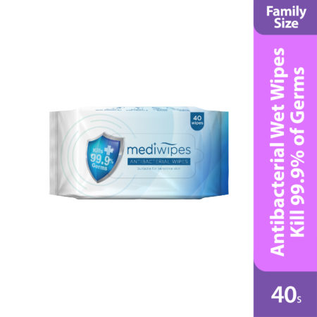 Mediwipes Antibacterial Wipes is soft, gentle & comfortable wet wipes.