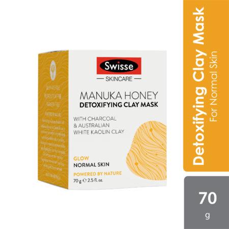 Swisse Sc Manuka Honey Detoxifying Clay Mask 70g