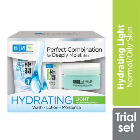 Hada Labo Hydrating 123 Trial Set (light)