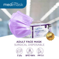Medimask Adult Surgical Face Mask is essential during Covid-19 pandemic.