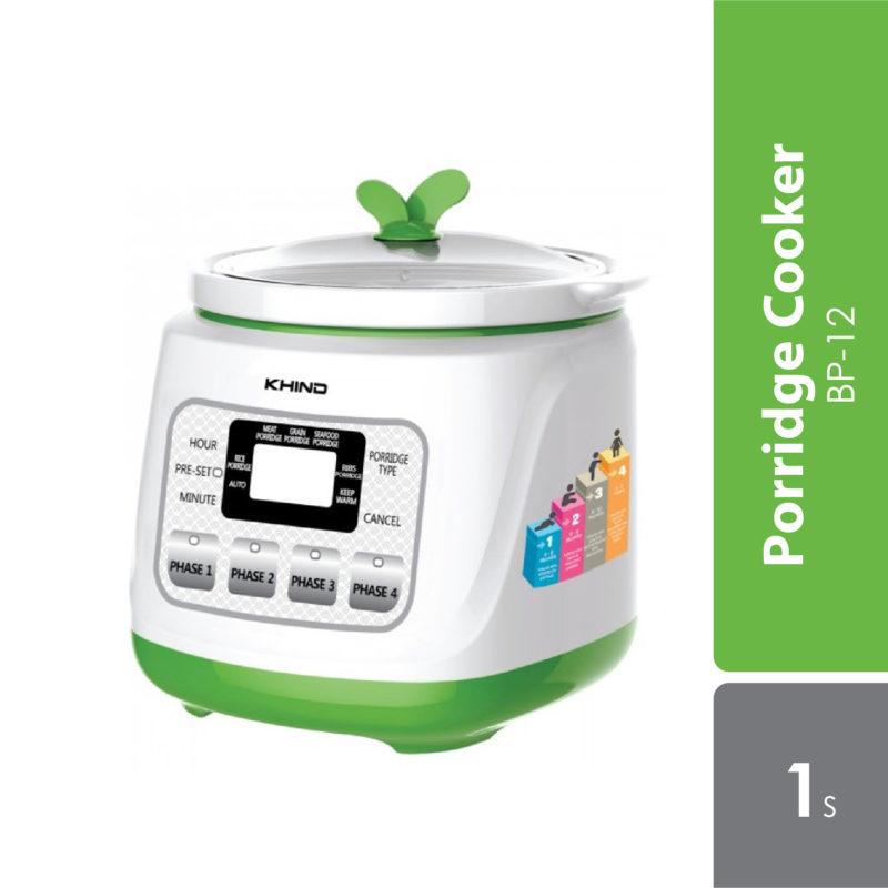 Khind Baby Porridge Cooker Bp-12