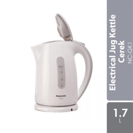 PANASONIC 1.7L Electrical Jug Kettle Cerek NC-GK1