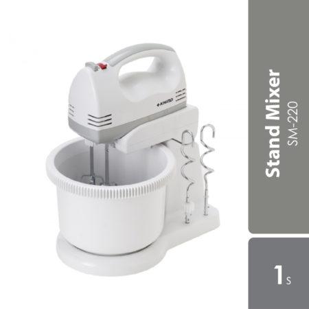 Khind Stand Mixer Sm220 Hand Mixer 2l