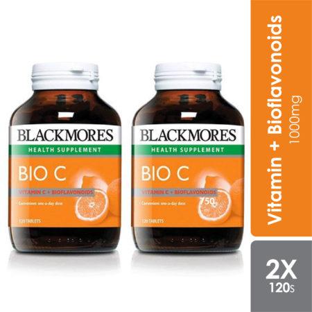 Blackmores Bio C 1000mg 2x120s