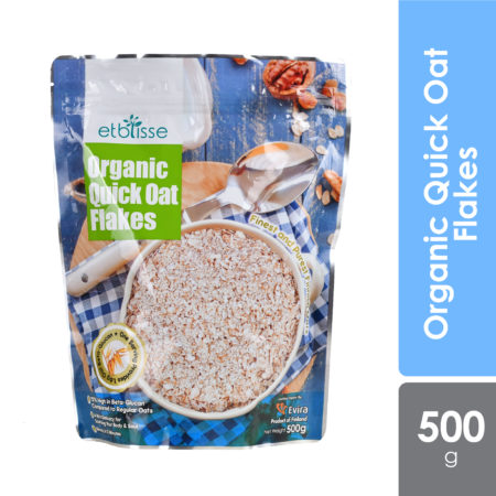 Etblisse Organic Quick Oat Flakes 500g