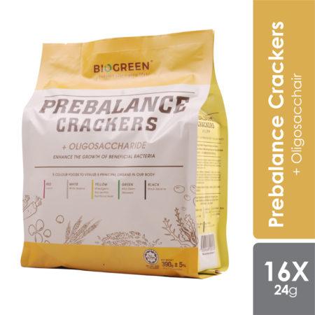 Biogreen Prebalance Crackers 16x24g