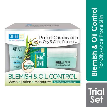 Hada Labo Blemish & Oil Control 123 Trial Set