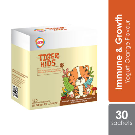 GKB Tiger Kids for children's immunity and growth.