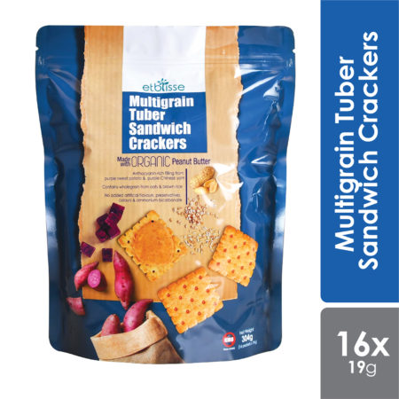 Etblisse Multigrain Tuber Sandwich Crackers 16x19g