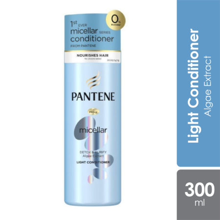 Pantene Micellar Detox & Purify Conditioner 300ml