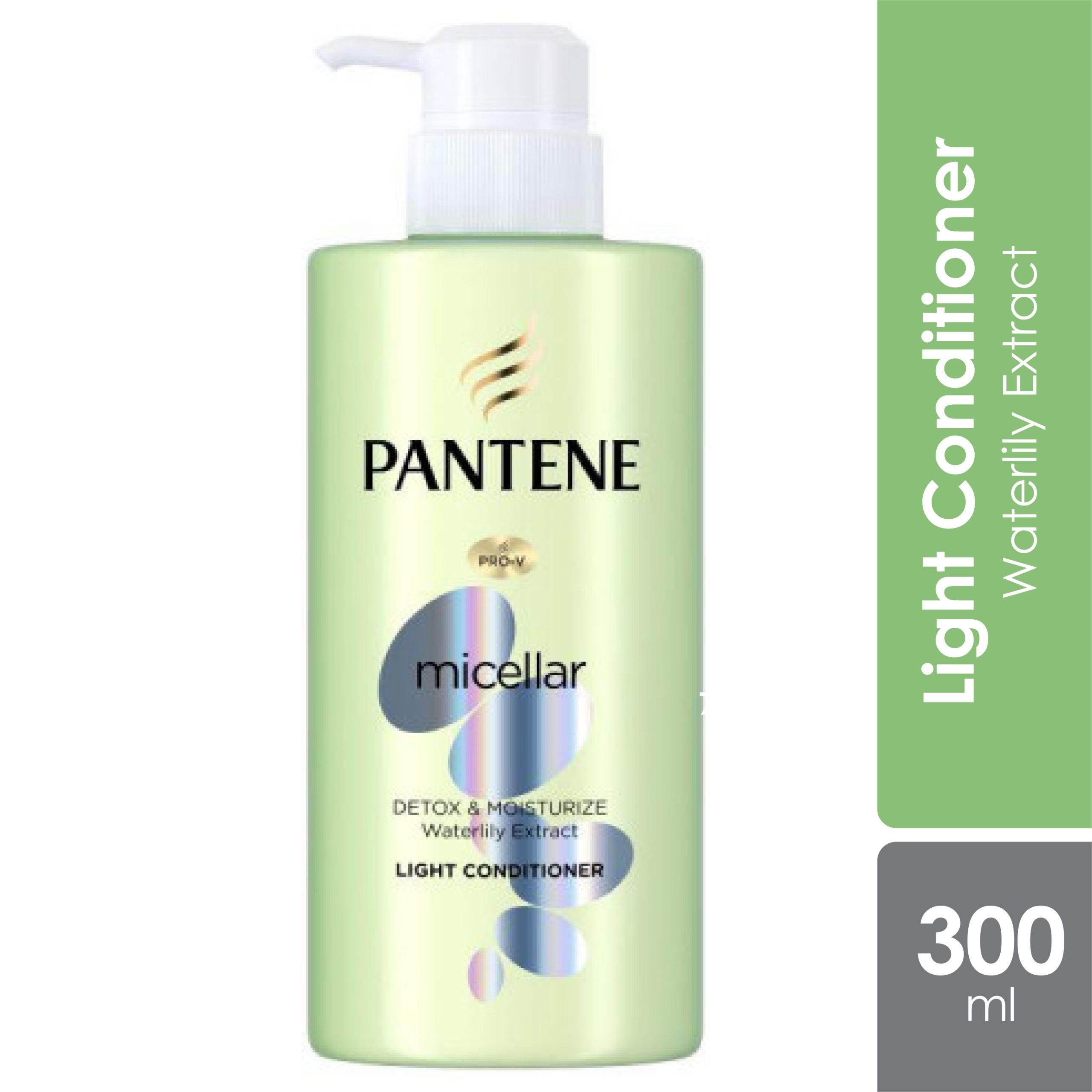 Pantene Micellar Detox & Moisturize Shampoo 300ml