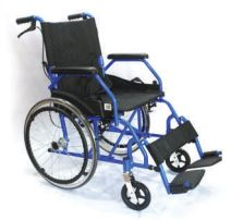 Hospitech Lightweight Blue Wheelchair 20 Inch