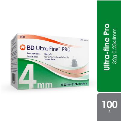 Bd Ultra-fine Pro 32g 0.23x4mm 100s