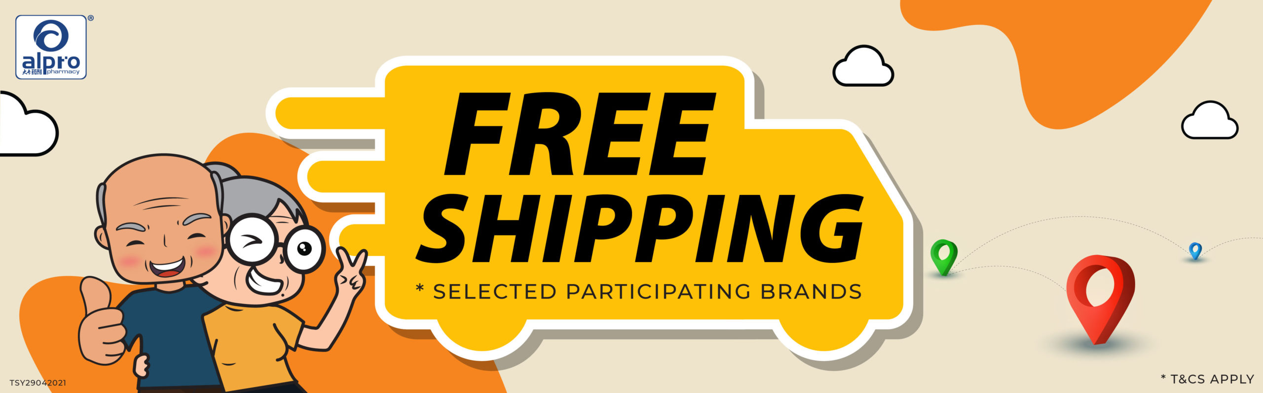 free delivery_with brands